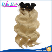 2015 New Products Alibaba Express Best Selling 1B 613 Color Brazilian Ombre Weave Hair