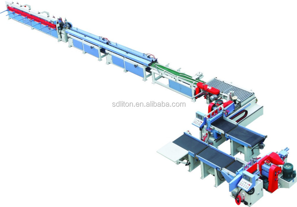 Full automatic finger joint line for woodworking machine