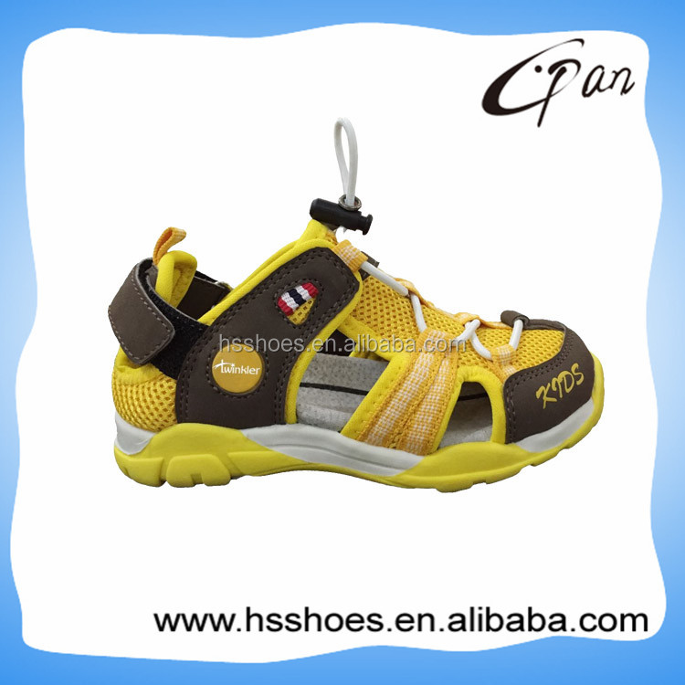 Top selling closed toe childrens sport sandals