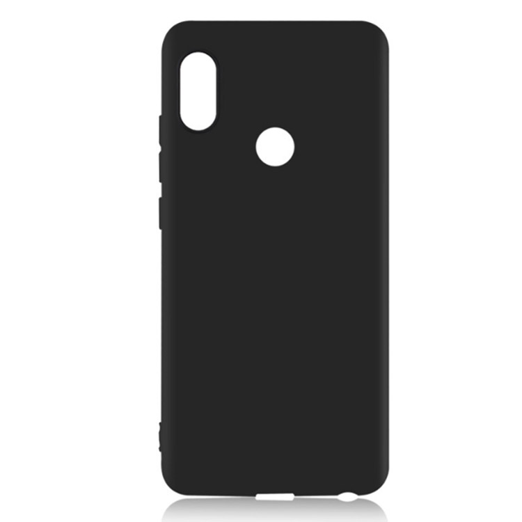 For Redmi Note 5 Pro Black TPU Matte <strong>Case</strong>