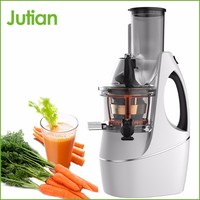 New best vegetable and fruit cold press big mouth slow juicer