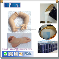 Long time silicone raw material for sex dolls making