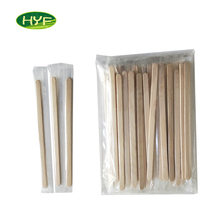 Last Day Promotion Natural Color Wood Stirrer Sticks