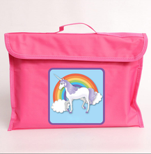 Unicorn library book bags for kids
