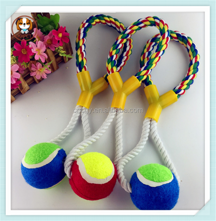 Elegent Pet Wholesale Knot Rope Dog Chew Toy /Cotton Rope Pet Toys