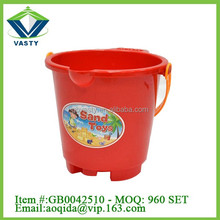 7 inch sand beach bucket for field day