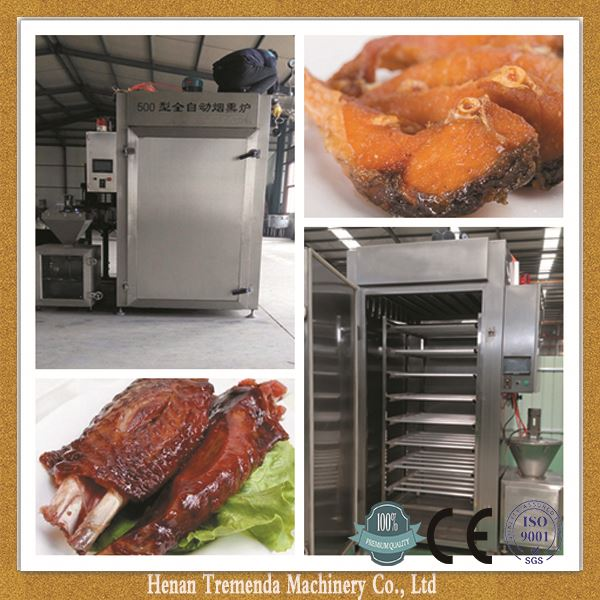 meat smoking machine for meat and fish for sale