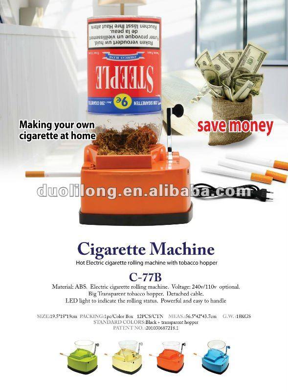 easy roller cigarette machine