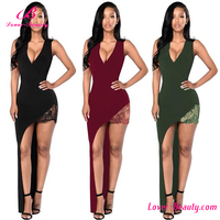 Fast Shipping Mature Black Lady Sexy Lady Fashion Dress