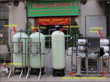 CE certification ro system water purifier for drinking KY3000LPH