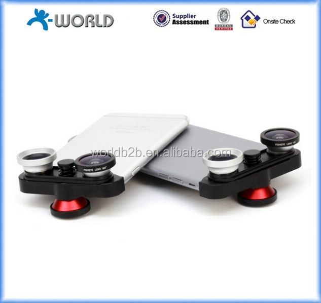 3 in 1 wide angle zoom lens phone camera lens for mobile phone