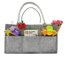 Baby diaper caddy bag felt foldable for mum use