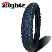Grade A new pattern 3.50-18 motorcycle tire from only made class A factory