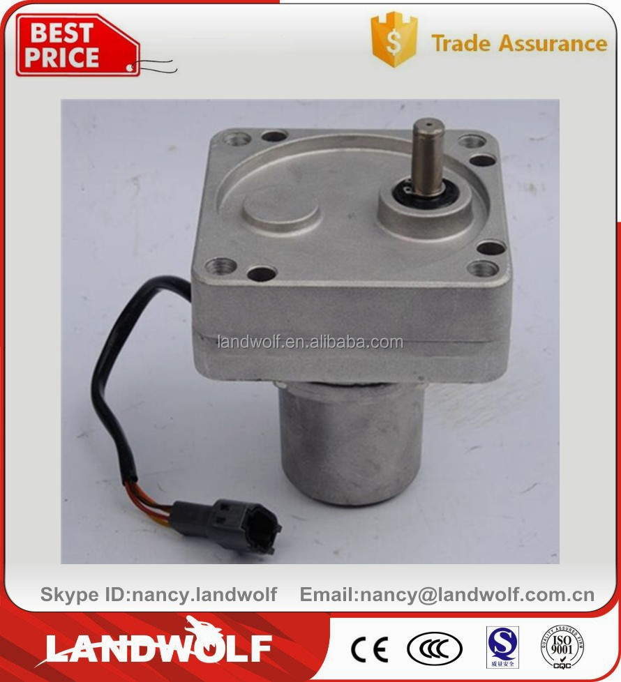 2016 New SANY hydraulic excavator electric parts EX200 throttle motor for sales
