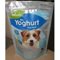 plastic pet yogurt packaging pocket