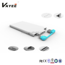New AAA grade 3000mah power bank vivan