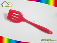 Luxury TPR non-slip grip Colorful Silicone kitchen Utensils cooking accessories Silicone slotted turner