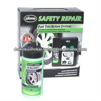 SLIME SAFETY REPAiR Flat Tire Repair Automatic SLIME Tires for Trucks