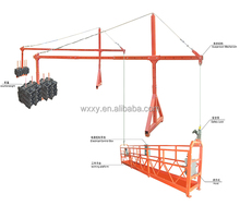 ZLP500/630/800/1000 building electric window cleaning hanging gondola/cradle/suspended platform