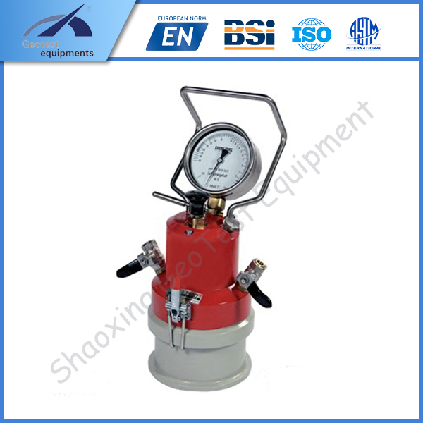 Vebe Consistometer Fresh Concrete Mixture Consistency Meter