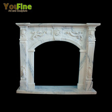 High quality decorative victorian marble fireplace