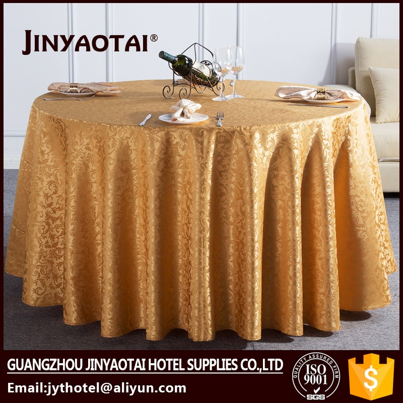 "Guangzhou 120"" round wedding satin customized purple table cloth"