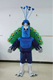 bswm172 wholesale green peafowl mascot costume peacock costume for sale