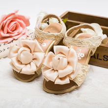 S32931W New Arrival Autumn Fashion Bow Lace Kids Dress Shoes Solid Pretty All-match Children Shoes