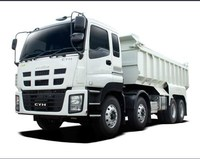 ISUZU 6*430ton used dump truck for sale