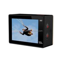 China made 170 degree sport camera 2 inch hd screen 900mah battery for wide angle 170 degree video recording