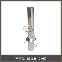 Arlau RB14 security bollards removable stainless steel traffic bollard