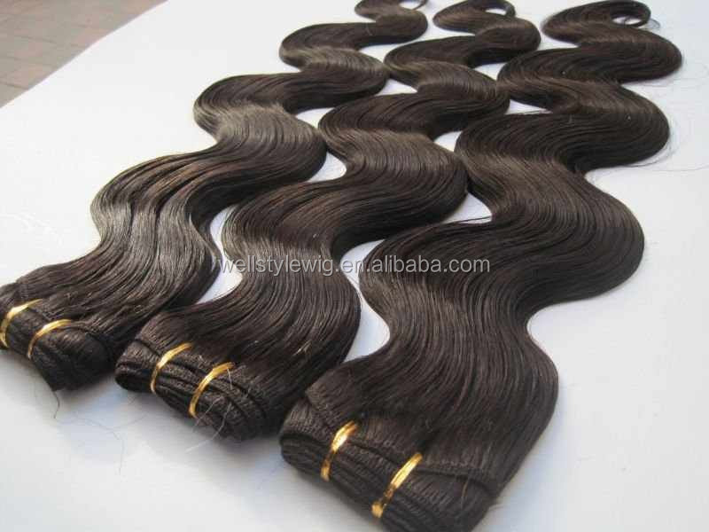 Best selling top quality tangle free wholesale 7A malaysian human hair extension