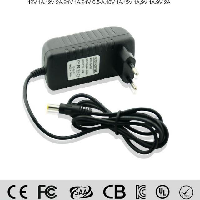 US Plug Transformer UK plug New DC 12V 2A 2.0A Switching Power Supply Adapter For 110V- 240V AC 50/60Hz 2.1mm CB CE approval
