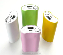 High capacity customized 5000mAh 5v li-ion usb mobile travel power for corporate, business gift, advertising.
