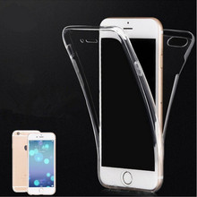 soft transparent clear tpu case for iphone 6 6s 6 plus ultra thin mobile phone tpu case