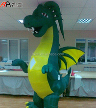 Advertising Decorative Inflatable Pneumatic Costume Dragon