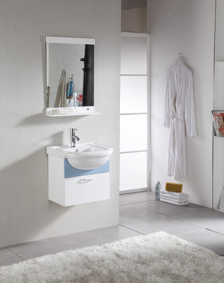 1047 New Design PVC Bathroom Cabinet