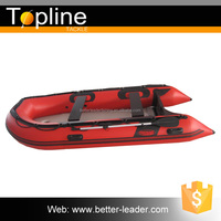 Commercial Inflatable Yacht Fishing Boat Manufacturers with Carrying Handle
