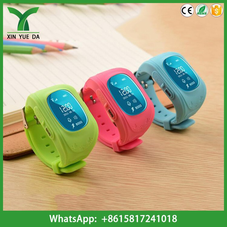 Emergency GPS Tracker Kids Smart Watch GSM Real Time Tracking