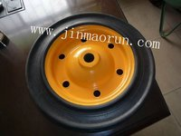 "heavy-duty Solid Rubber Wheel SR1902(13""x3"")"