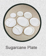 7 inch Biodegradable Disposable Sugarcane Bagasse Paper Plate/Compostable Dinner Plate