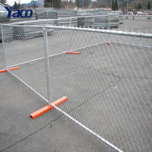 hot sale cheap temporary panel portable construction chain link fence