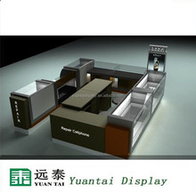 Decorating design repair cellphone shops display kiosk