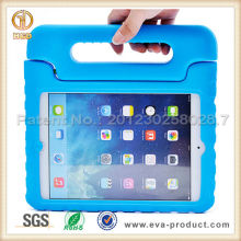Handle grip design kids safe shock proof eva foam case for ipad mini 2 /3/4
