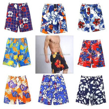 0.8 USD High Quality New Style Stock Fashional Fllowers Men Beach Shorts For Surfing (gdzw124)