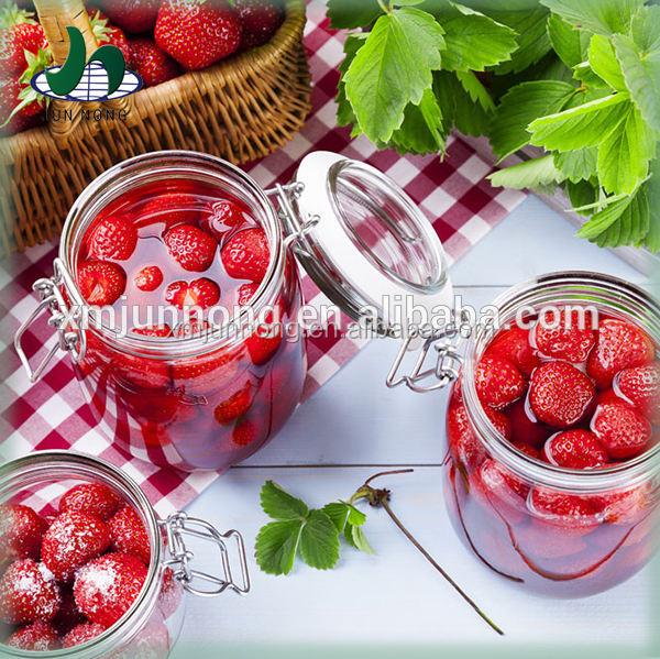 High Quality Canned Strawberry in Light Syrup