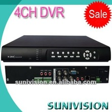 CCTV Factory!!! 4 channels usb dvr stand-alone real time network
