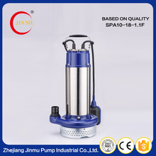China made best price high pressure stainless steel casing submersible pumps water pump specifications