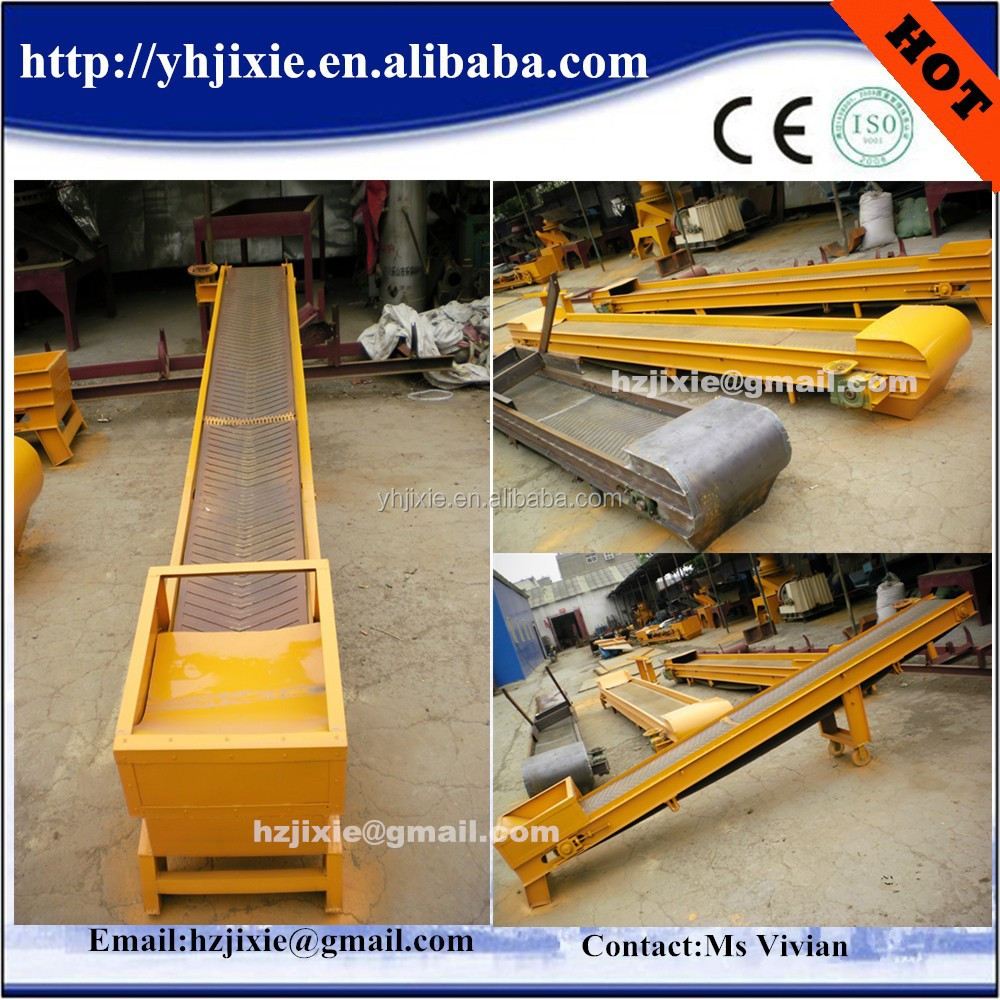 sawdust belt conveyor with factory price