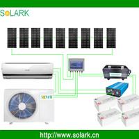 9000BTU-24000BTU 100% solar powered air conditioner solar air condtioner split type